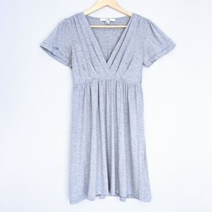 Forever 21 Grey Babydoll Dress Made in USA